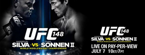 Time Warner Cable Pay-Per-View UFC 148: Silva vs. Sonnen 2- It's the most eagerly anticipated rematch in UFC history as Anderson Silva defends his title against Chael Sonnen. Plus, Tito Ortiz and Forrest Griffin look to settle the score. UFC 148: Silva vs. Sonnen 2 - Saturday, July 7, live on Pay-Per-View.